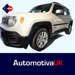 Jeep Renegade 5 Door Side Protection Mouldings