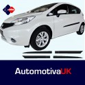 Nissan Note Mk2 5 Door Side Protection Mouldings