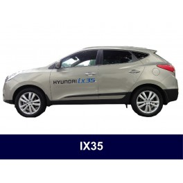 Hyundai ix35 Side Protection Mouldings