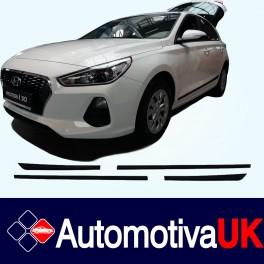 Hyundai i30 Mk3 5 Door Side Protection Mouldings