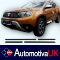 Dacia Duster 5 Door Protectors/ Side Protection Mouldings
