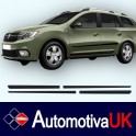 Dacia Duster 5 Door Mark 2 Protectors/ Side Protection Mouldings