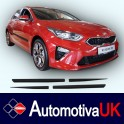 KIA Cee'd Mk3 Hatchback 5Door Side Protection Mouldings