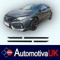 Honda Civic Mk10 5 Door Side Protection Mouldings