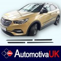 Vauxhall Grandland X Side Protection Mouldings