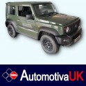 Suzuki Jimny Side Protection Mouldings