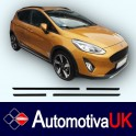 Ford Fiesta Mk7 Side Protection Mouldings