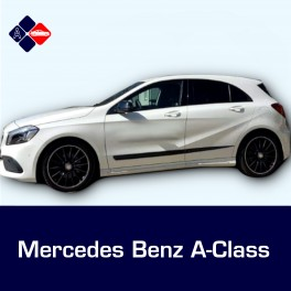 Mercedes A-Class Mk5 5 Door Side Protection Mouldings