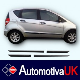 Mercedes A-Class Mk2 5 Door Side Protection Mouldings
