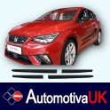 Seat Ibiza Mk5 Side Protection Mouldings