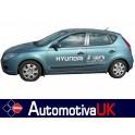 Hyundai i30 Mk1 5 Door Side Protection Mouldings