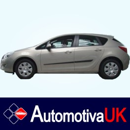 Vauxhall Astra Side Protection Mouldings