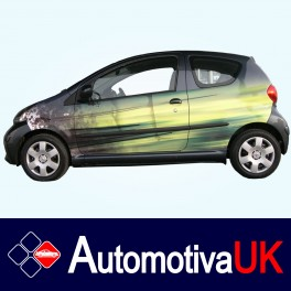 Toyota Aygo 3 Door Side Protection Mouldings