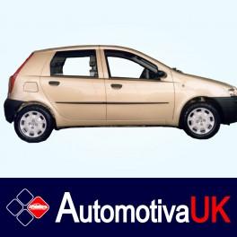 Fiat Punto 5 Door Side Protection Mouldings