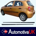 Nissan Micra 5 Door Side Protection Mouldings