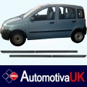 Fiat Panda Mk2 5 Door Side Protection Mouldings