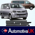 Volkswagen Transporter T5 (SWB) Door Side Protection Mouldings