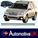 Subaru Outback Side Protection Mouldings