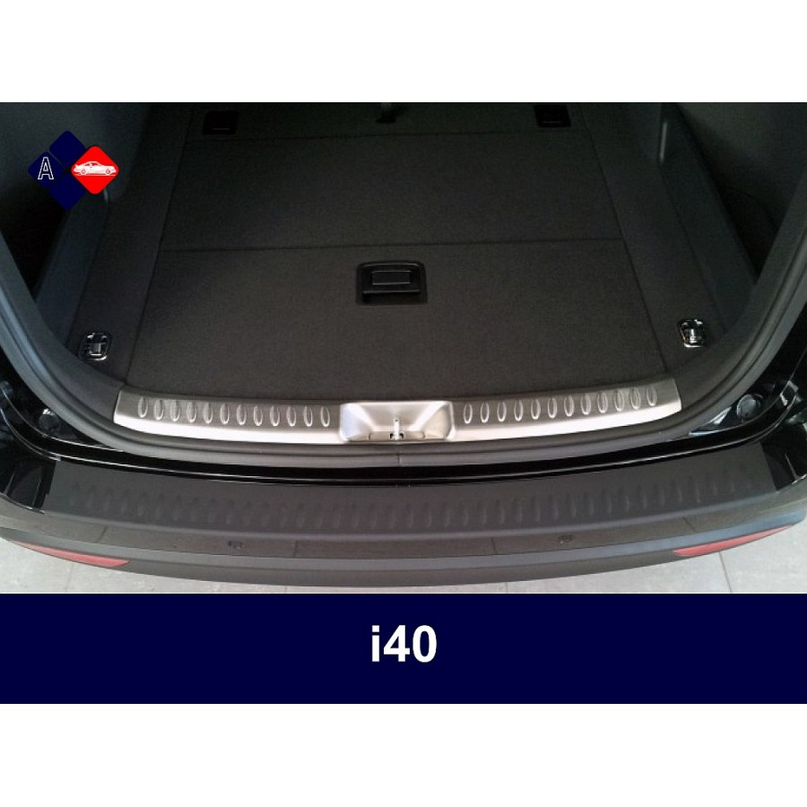 Hyundai I Rear Bumper Protector on nissan sedan rear
