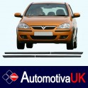 Vauxhall Corsa 3 Door Side Protection Mouldings