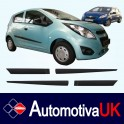 Chevrolet Spark 5 Door Side Protection Mouldings