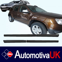 Dacia Duster Door Protectors/ Side Protection Mouldings