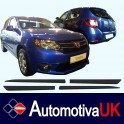 Dacia Sandero Door Protectors/ Side Protection Mouldings