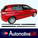 Peugeot 308 Mk2 5 door Side Protection Mouldings
