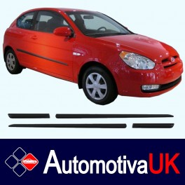 Hyundai Accent Mk3 3 Door Side Protection Mouldings