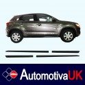 Mitsubishi ASX Facelift Side Protection Mouldings