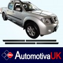 Nissan Navara Side Protection Mouldings