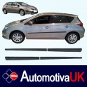 Toyota Auris Mk2 5 Door Side Protection Mouldings