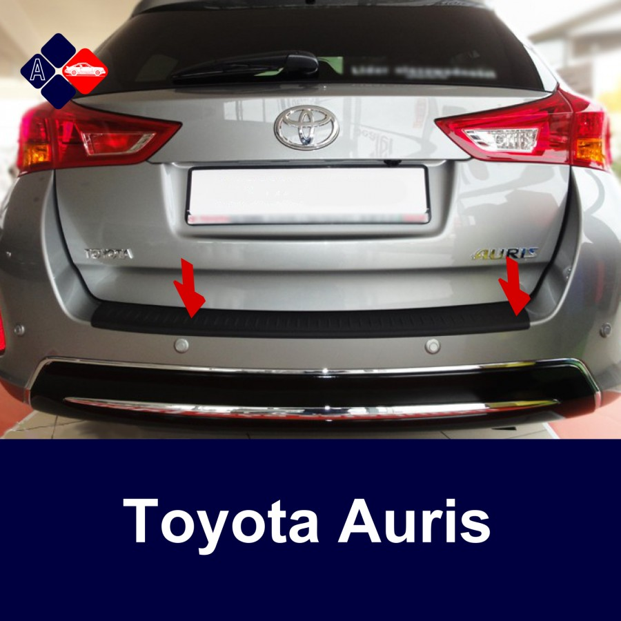 Automotiva Toyota Auris Ii Touring Sports Rear Bumper Protector